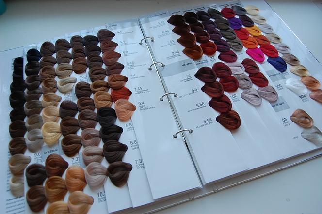 Капус краска для волос - палитра профессиональных оттенков